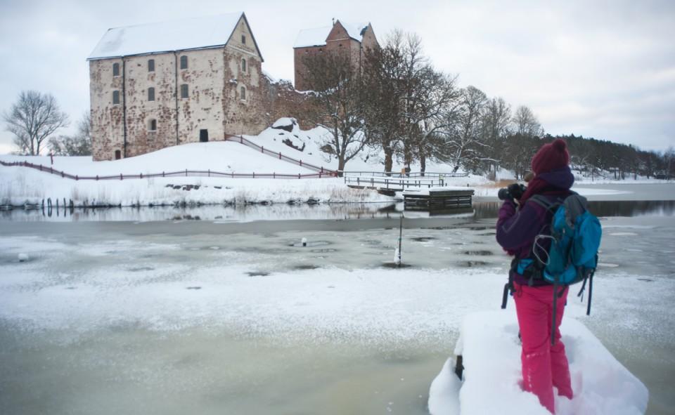 Journée photos dans le froid intense de la Finlande