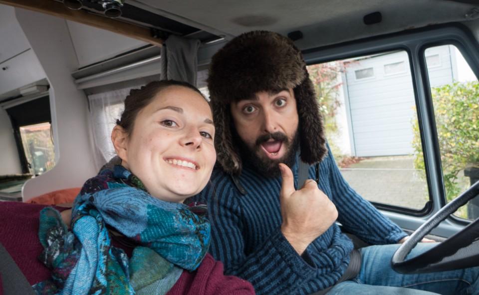 Au départ de Bruxelles pour un long roadtrip jusqu'à Rome en 9 jours