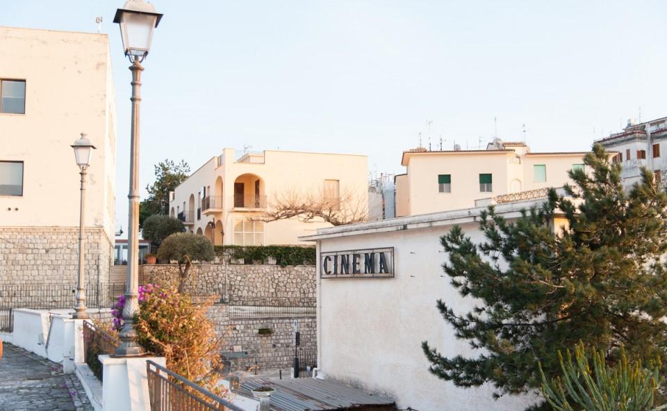 Une vue typique d'un petit village perdu d'Italie