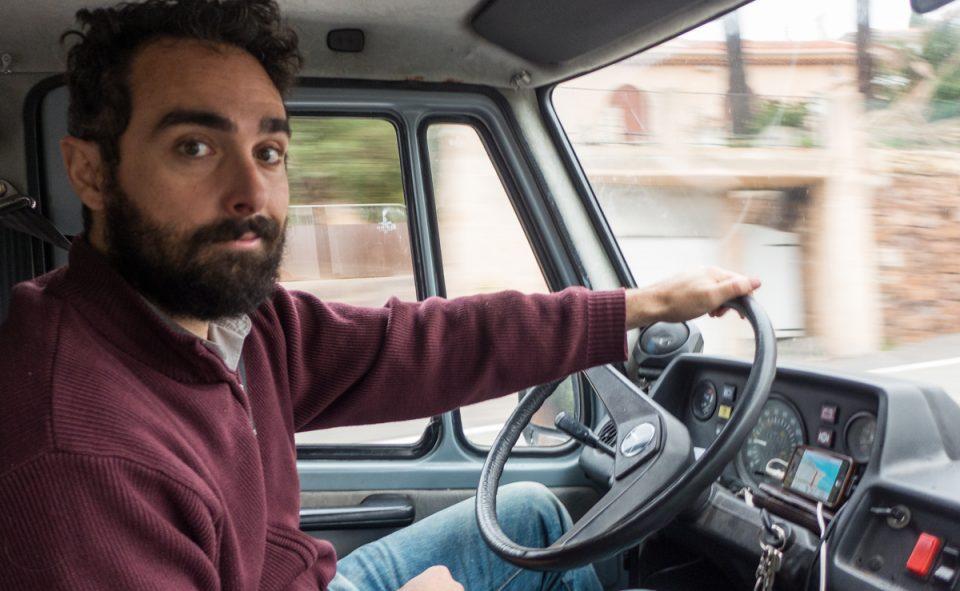 Un chauffeur de choc pour notre road trip à travers l'Italie