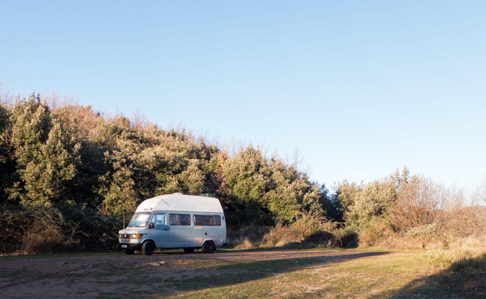Un petit coin pour faire du camping sauvage