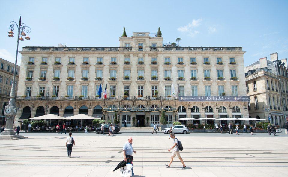 La belle ville de Bordeaux, parfaite pour une balade à pieds