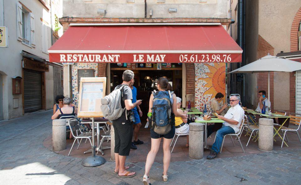 Visiter Toulouse à pied et faire une pause midi dans un bistrot sympa