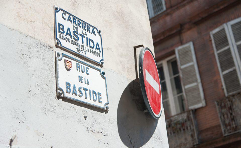 Photos des vieilles ruelles de la ville de Toulouse en France