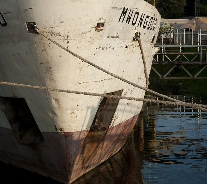 bateau sur le lac Tanganika