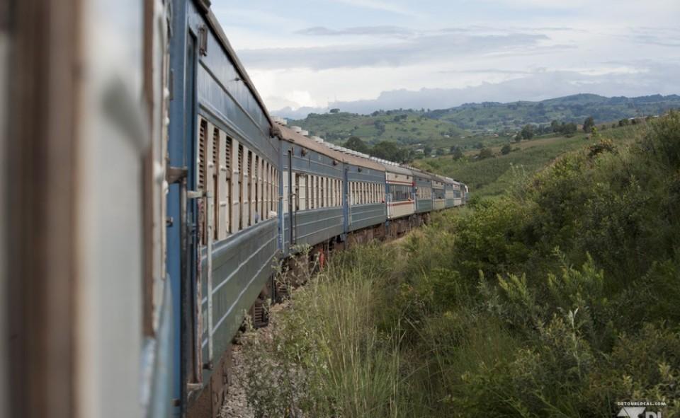 train de Mbeya à Dar
