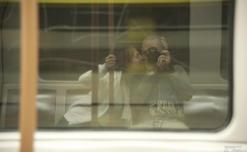 Journée photo à Bx dans le métro direction Stockel