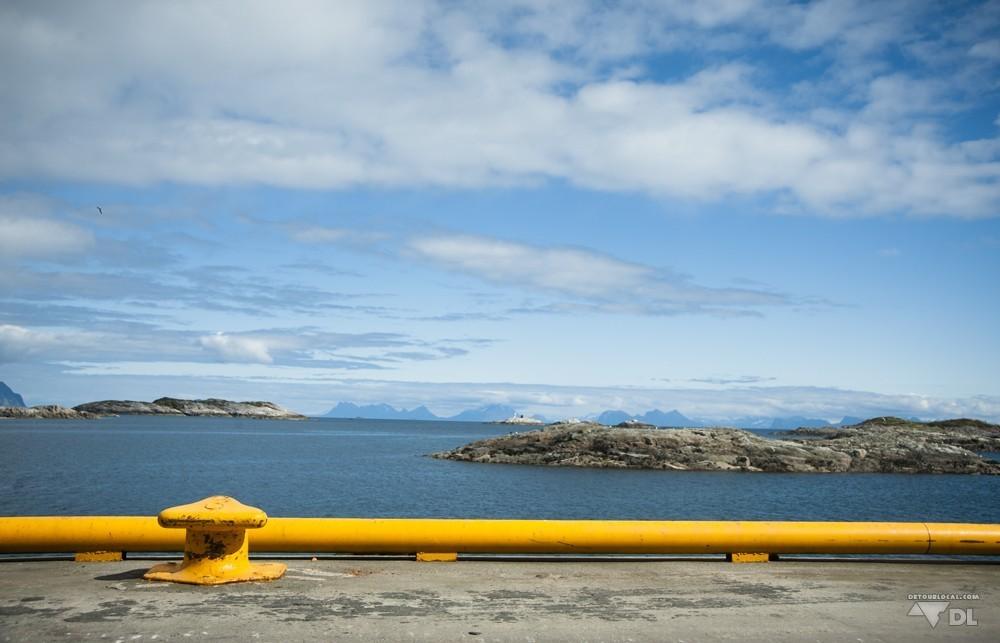 Hennigsvaer et notre premier arrêt sur les îles Lofoten