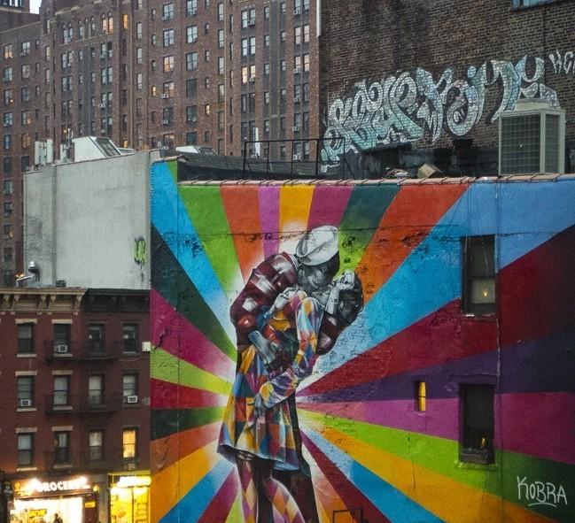 Un des nombreux graffitis fétiches de New York
