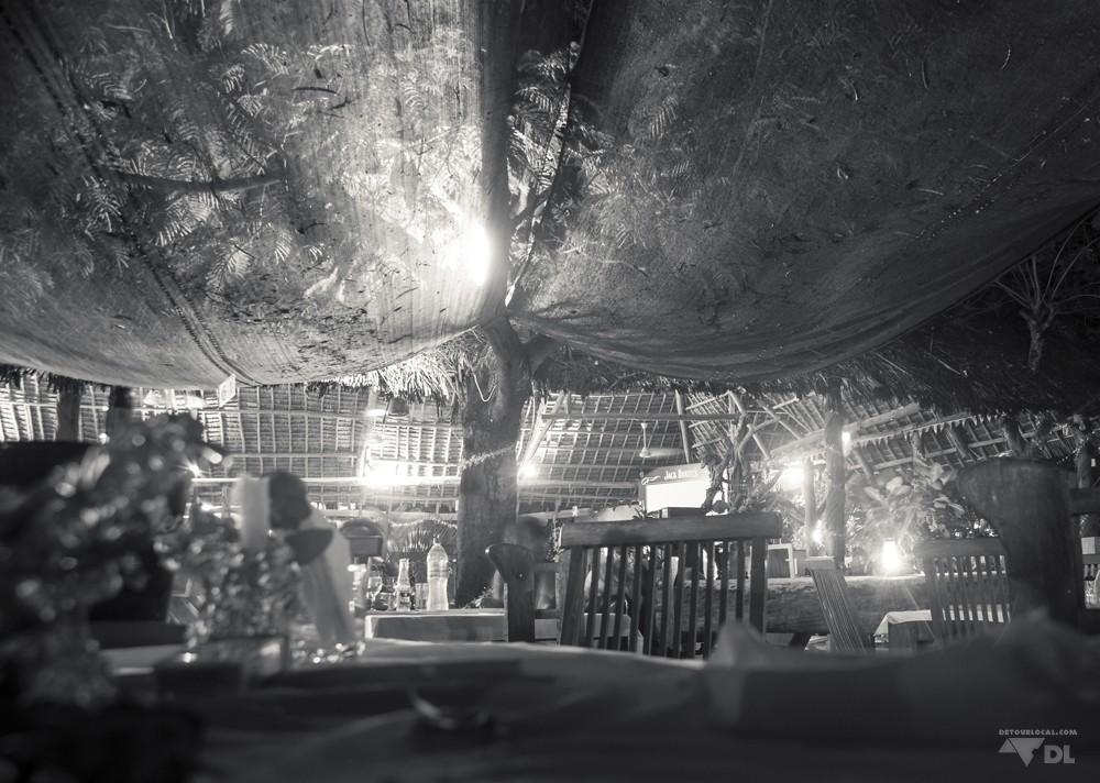 Fin de soirée après les célébrités à Triniti, Dar es Salaam