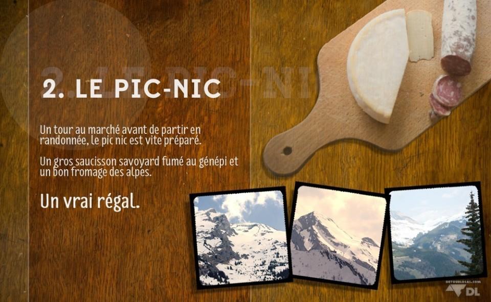2. Le Pic-nic