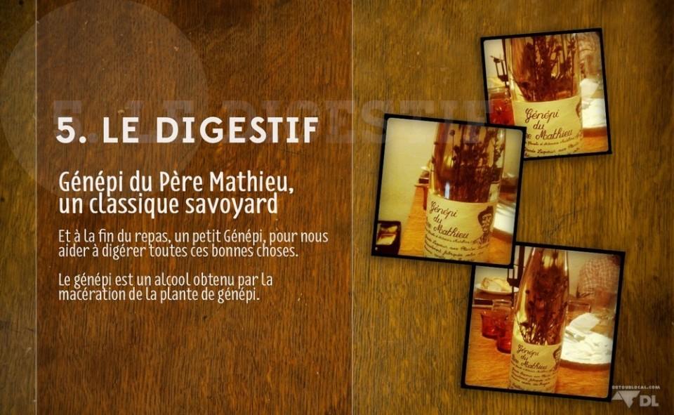 5. Le Digestif