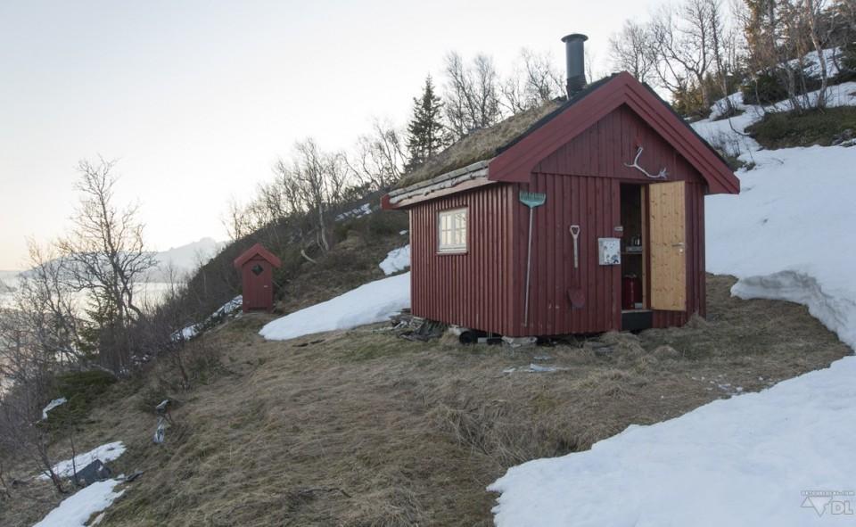 cabane rouge norvégienne