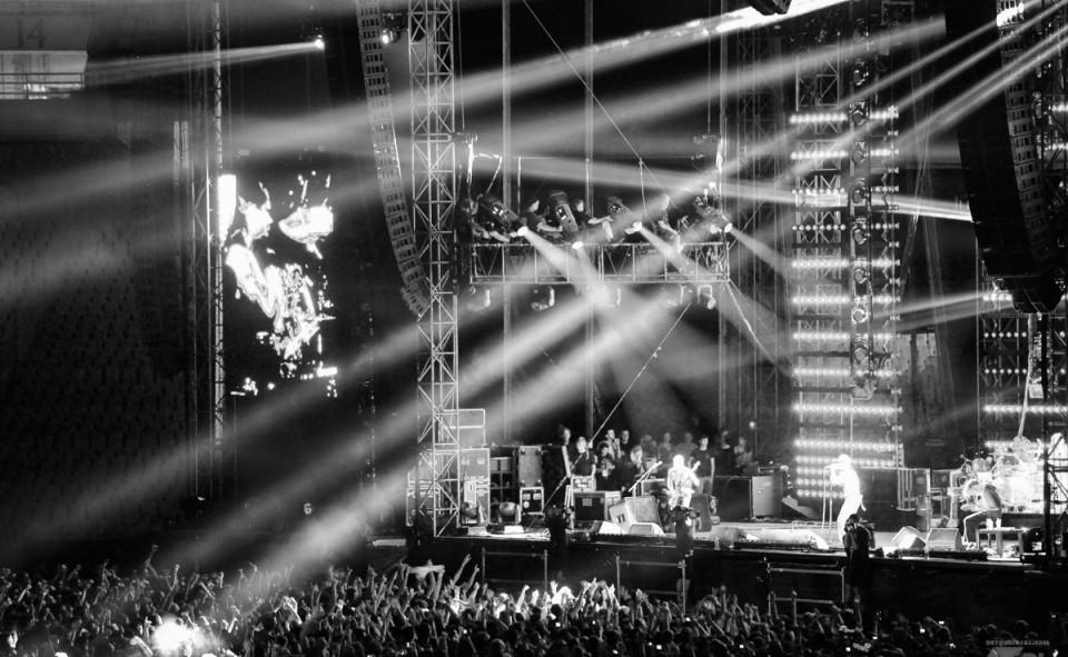 Concert des Red Hot Chili Peppers à Athènes, version VIP... tout simplement magique!