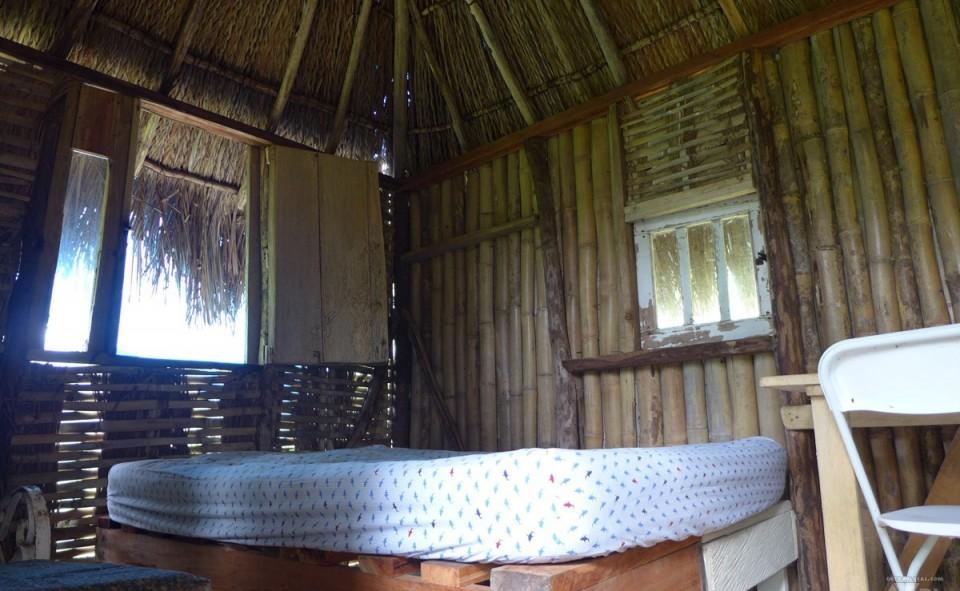 Notre petite hutte où nous avons logé