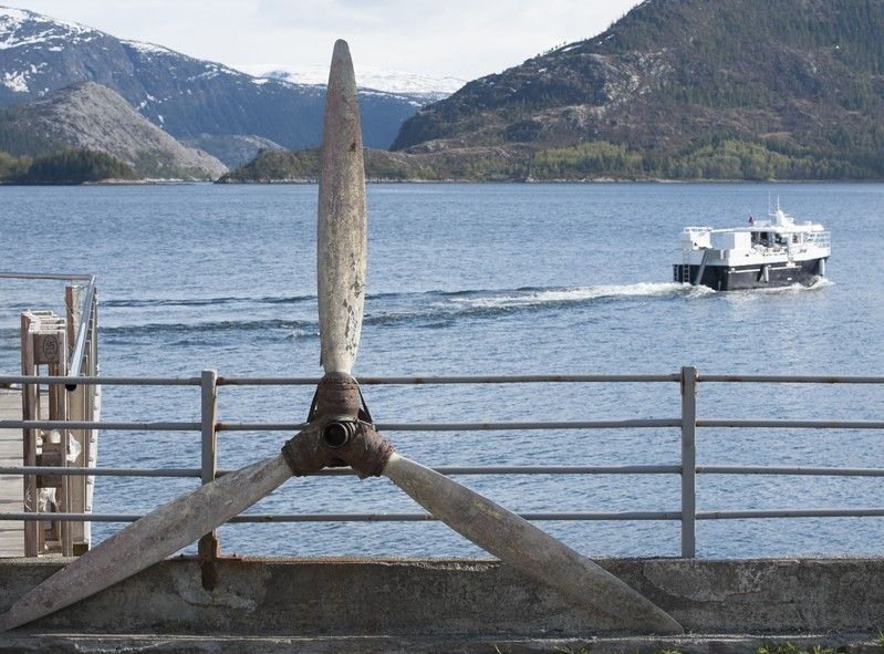 Hamnes, boat trip