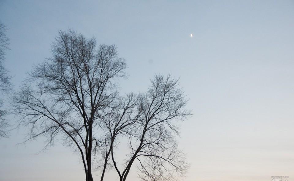 Pleine lune au Québec