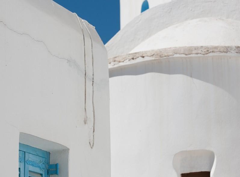 Bleu et blanc, les couleurs de la Grèce