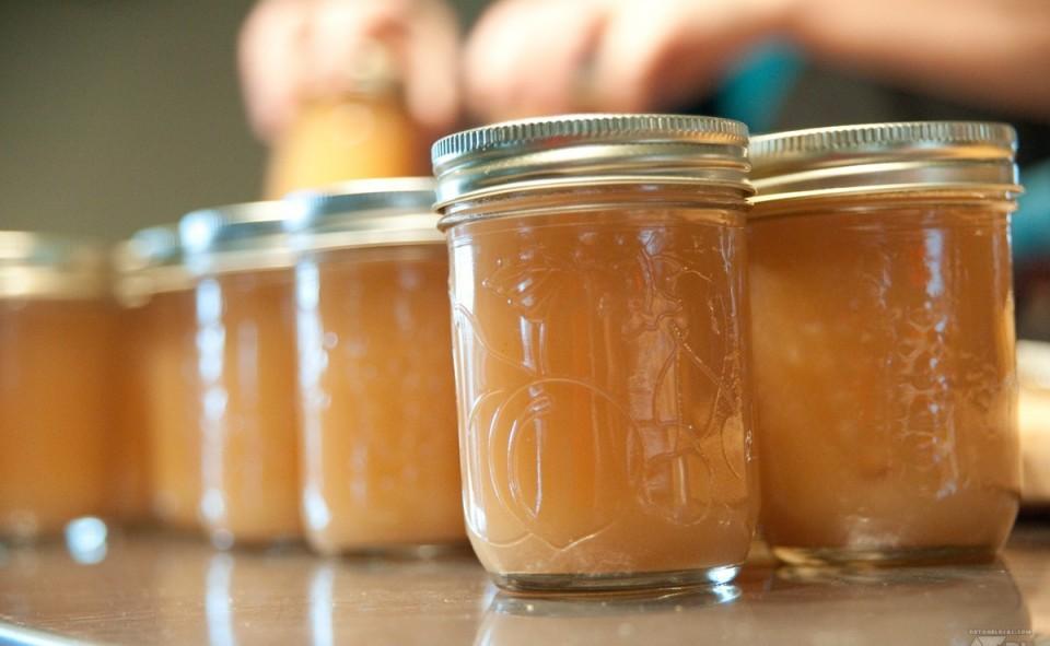 Beurre de pomme à l'érable