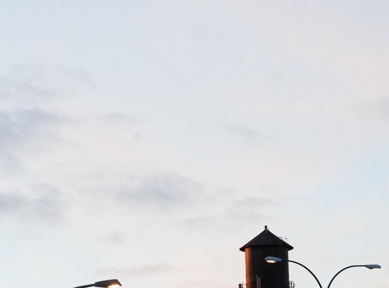 Petite balade au coucher de soleil à Montréal