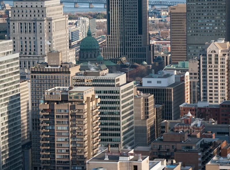 Vue de Montréal du Plateau Mont-Royal