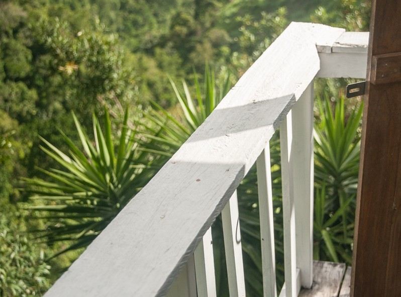 La vue d'une des terasses de Mount Edge Guest House