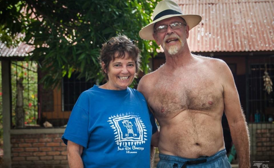 Debbie & Ron, couple retraité des États-Unis, maintenant expatriés au Nicaragua