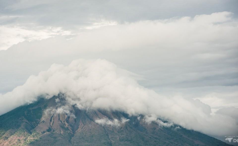 Le volcan Madera sur l'île d'Ometepe