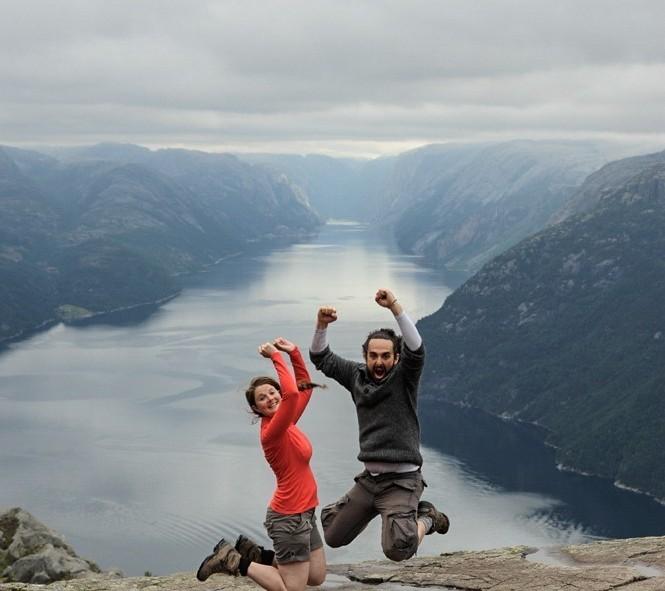 Le saut classique en Norvège