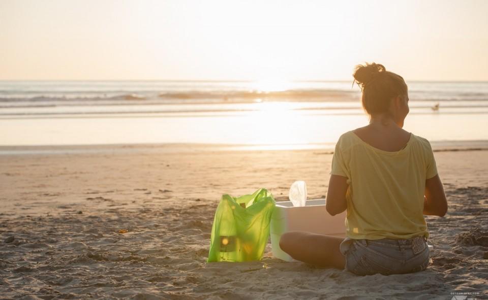 Un mojito livré sur la plage c'est toujours agréable