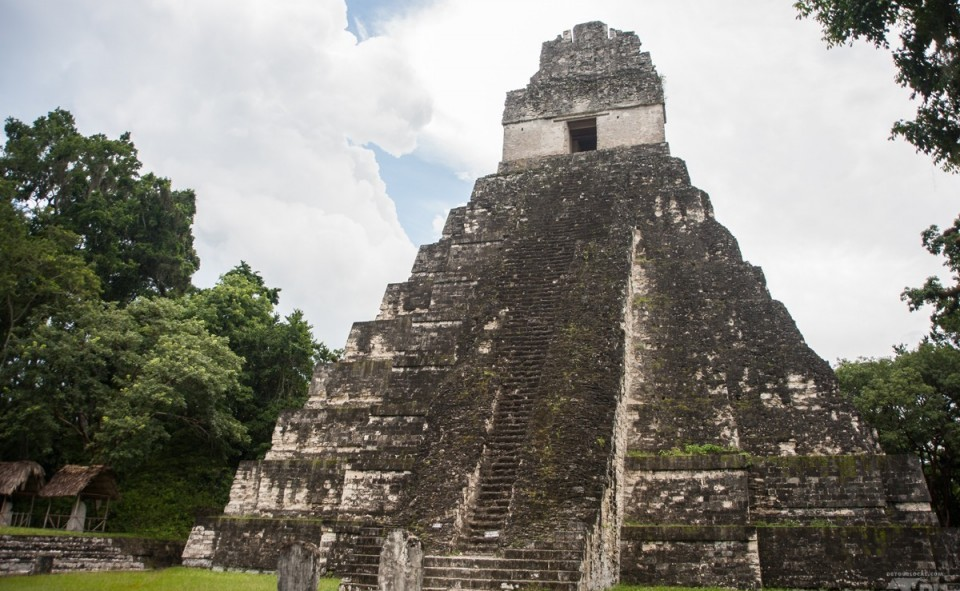 Tikal et ses ruines Mayas au Guatemala