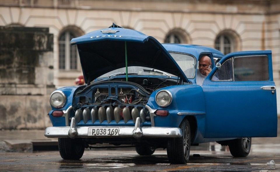Les voitures et la Havane, une longue histoire d'amour