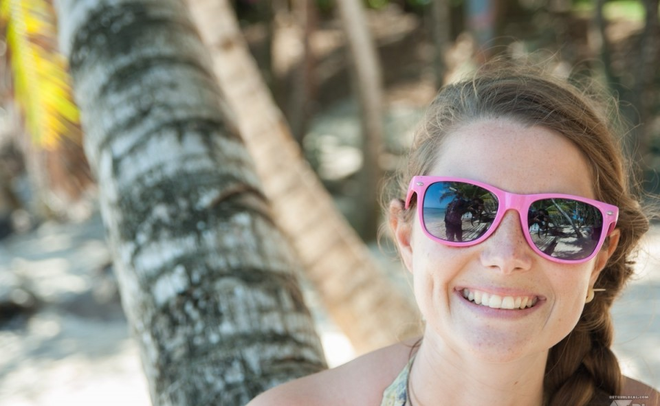 Le sourire magnifique d'une perle rare trouvée sur l'île