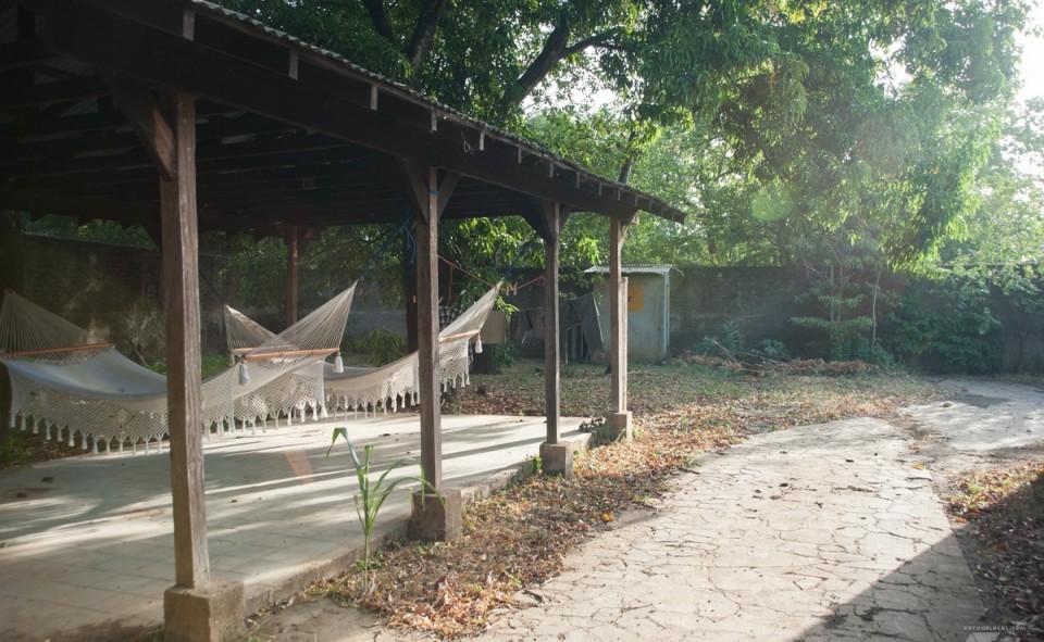 Le chill place de Colibri Connexion à León au Nicaragua
