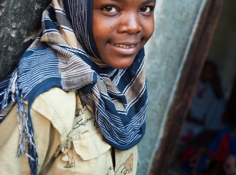 Le regard des jeunes de l'orphelinat en Tanzanie