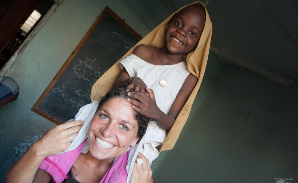 Johannna une des fondatrice de Mtoto wa Tanzania
