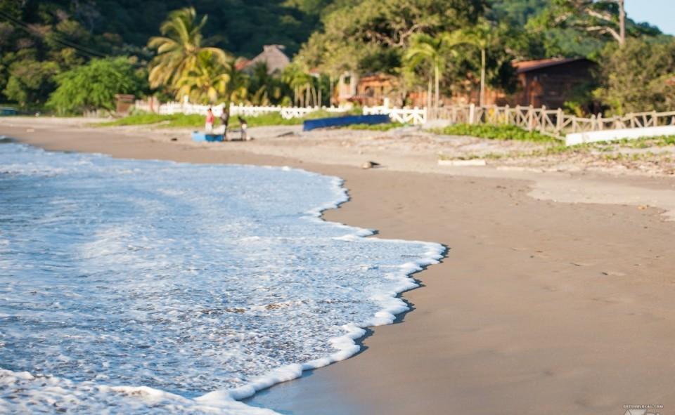 La plage de Marsella tout près de San Juan del Sur au Nicaragua