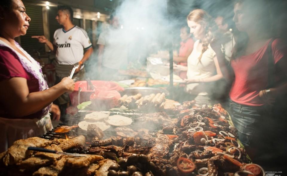 Le street-food au Nicaragua est à la fois succulent pour les papilles et votre budget