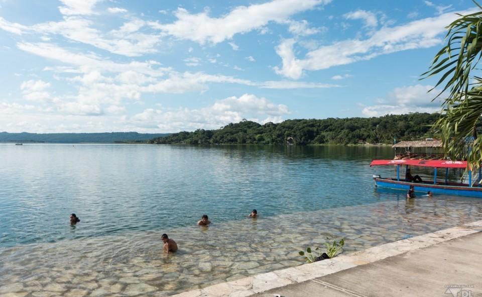 Petite baignade d'après-midi à Flores
