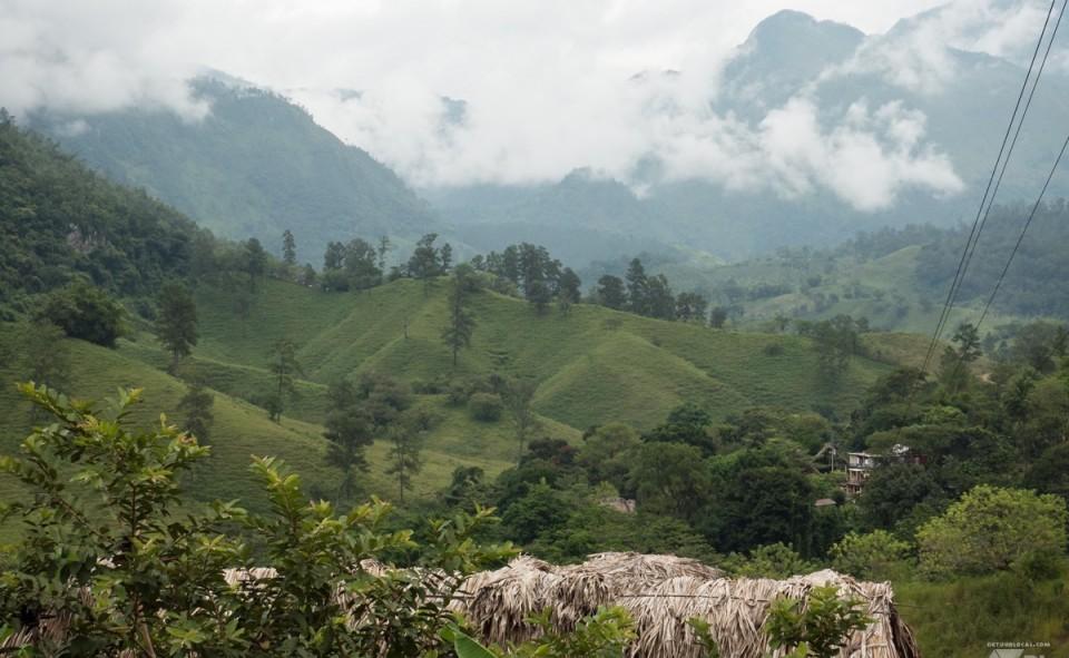 La région montagneuses de Semuc Champey est à voir au Guatemala