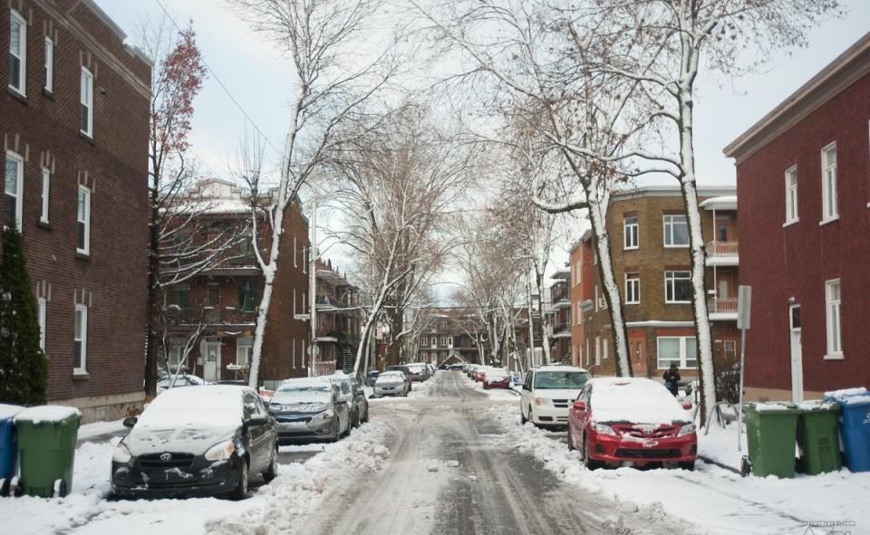 Le quartier de Limoilou à Québec où le House Sitting n'a pas fonctionné