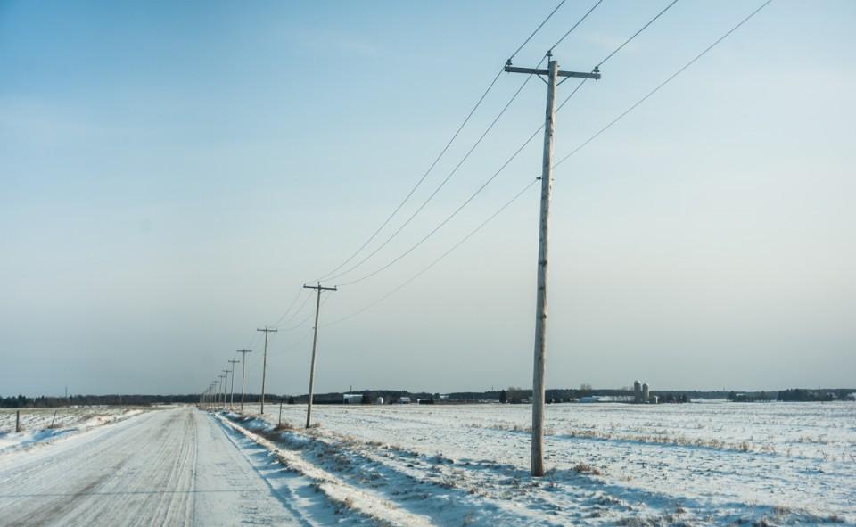 Route hivernale Saguenay
