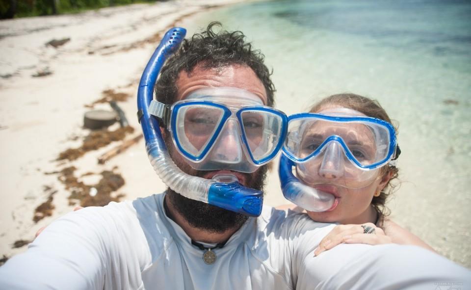 Panama, San Blas. Journée snorkeling