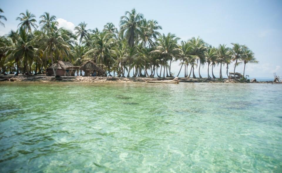 Panama, San Blas. Exploration des fonds marins