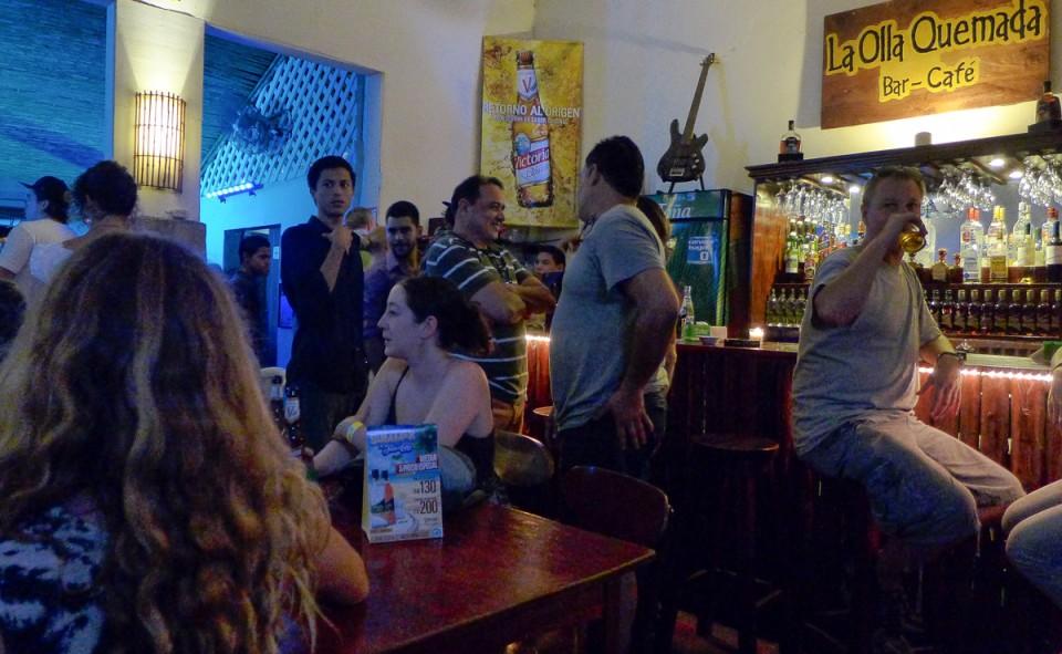 La Olla Quemada, le meilleur bar de Léon au Nicaragua
