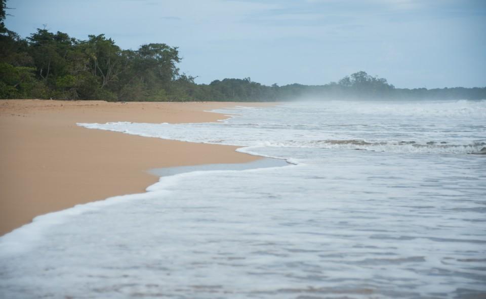 Playa Bluff à Bocas del Toro