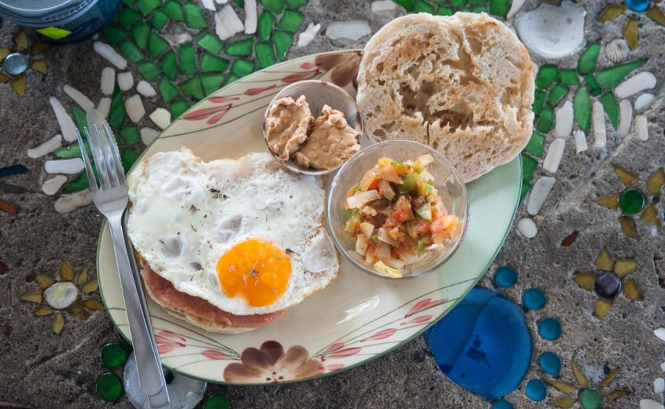 Petit déjeuné de roi