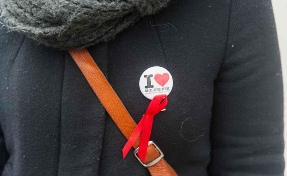 Le badge officiel de I Love Molenbeek