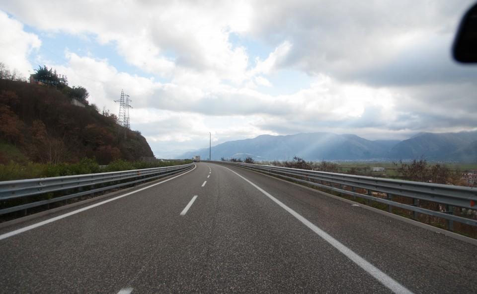 La vie sur la route c'est simplement magnifique. Liberté!