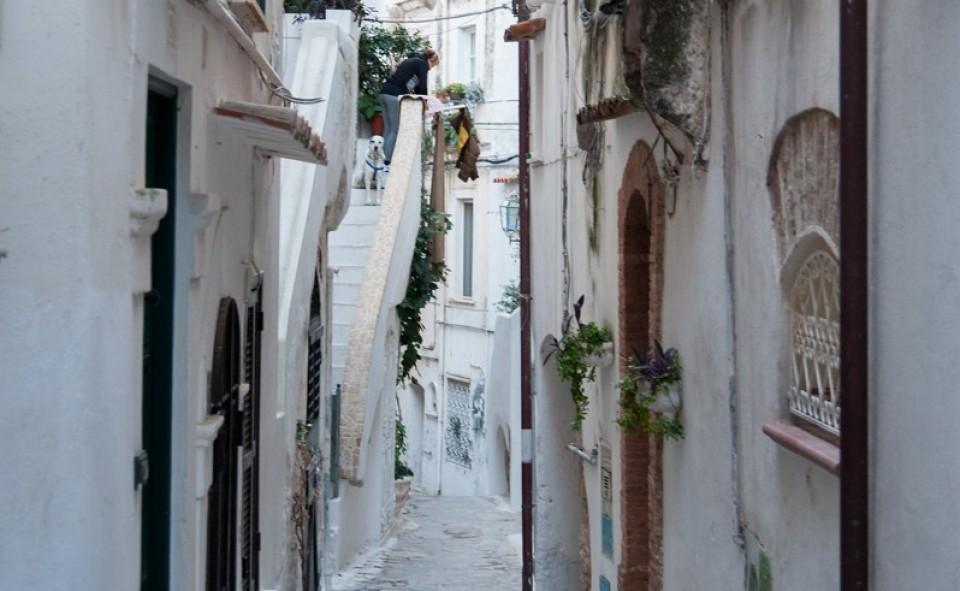 Une petite ruelle magnifique d'Italie